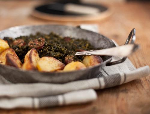 Grünkohl mit Röstkartoffeln – so mag ihn jeder!