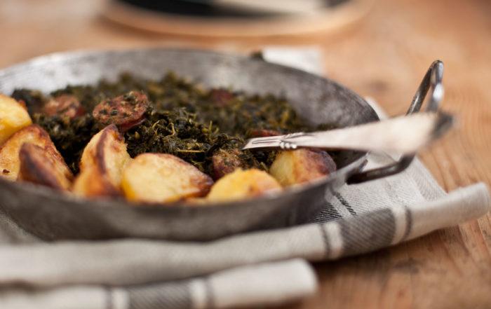 Grünkohl Winter Rezept gesund saisonal kochen