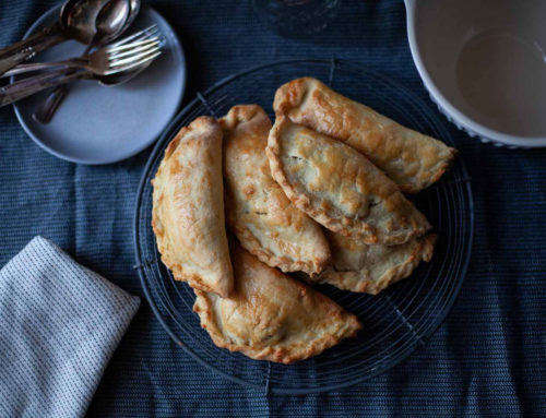 Die fast originale Cornish Pasty