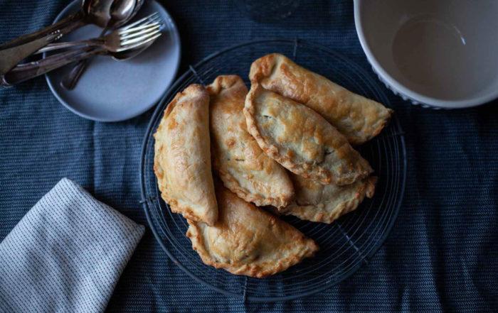 Cornish Pasties Pastete Hackfleisch Kartoffeln Rezept